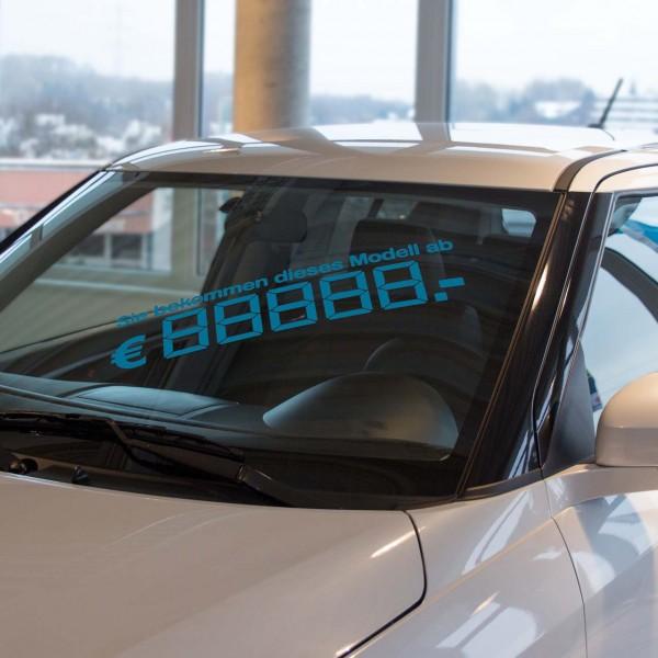 LCD-Modellpreis, blau