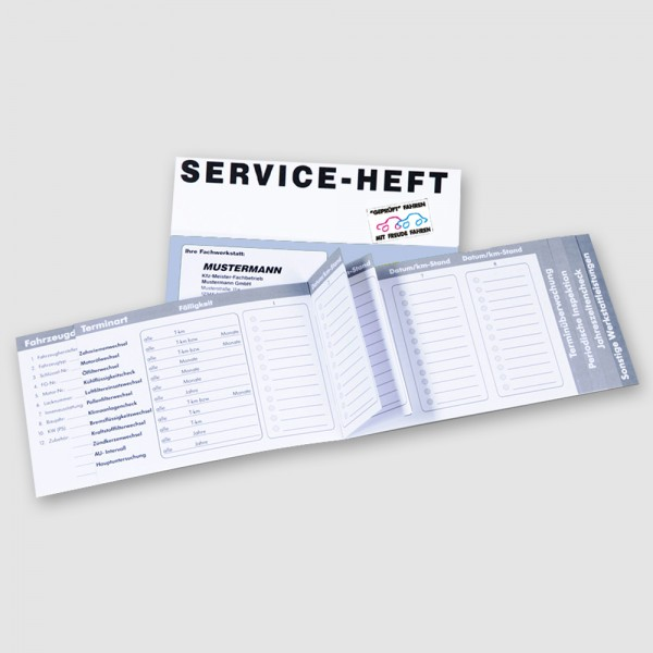 Gebrauchtwagen-Serviceheft