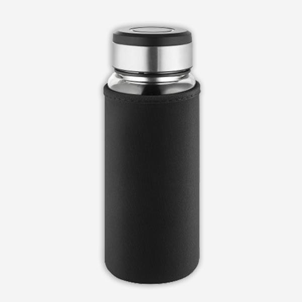 Thermosflasche Trinkflasche mit Thermotextil