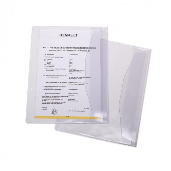 Dokumentenhülle für DIN A5, 18 x 23 cm