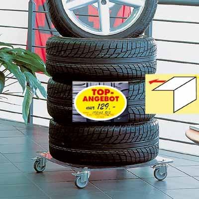 Reifen-/Räder-Preisschild, DIN A 4 quer
