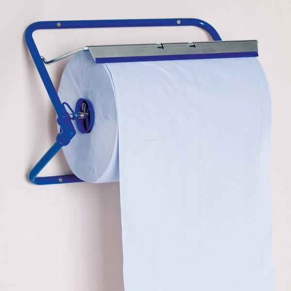 Papierrollenhalter für Rollen bis 40 cm Breite