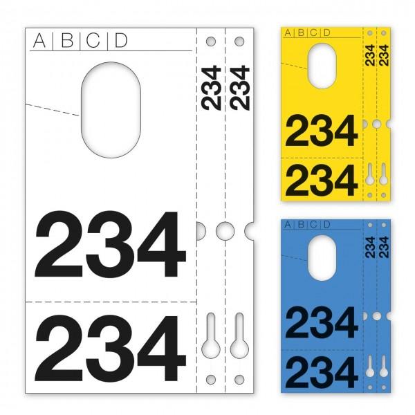 """Fahrzeug-Kennzeichnung """"4 in 1"""""""