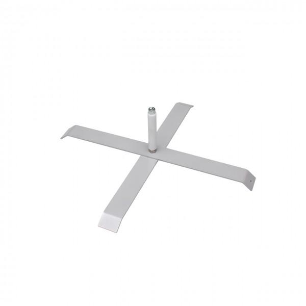 Kreuzfuß für Beachflags mit 70 cm Breite