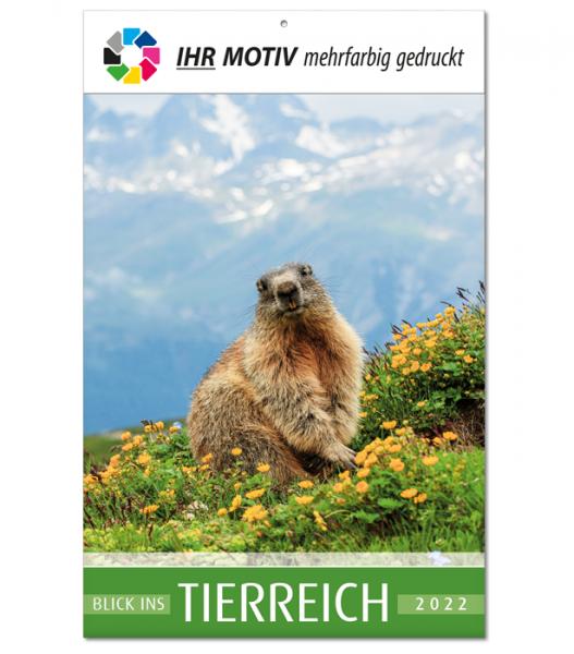 """Bildkalender """"Tierreich"""", Ausgabe 2022"""