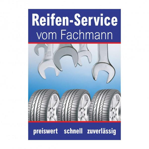 """Plakat DIN A1 """"Reifen-Service vom Fachmann"""""""