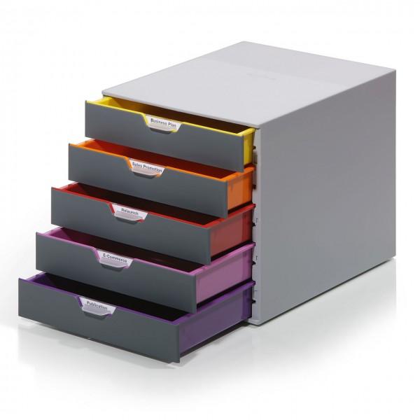 """Schubladenbox """"Variocolor"""" mit 5 Schubladen"""