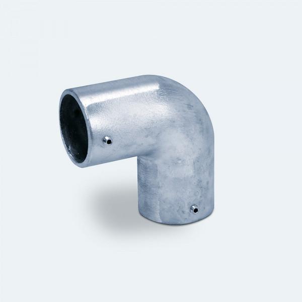 Kniestück für Alu-Rohre mit 60 mm Außendurchmesser