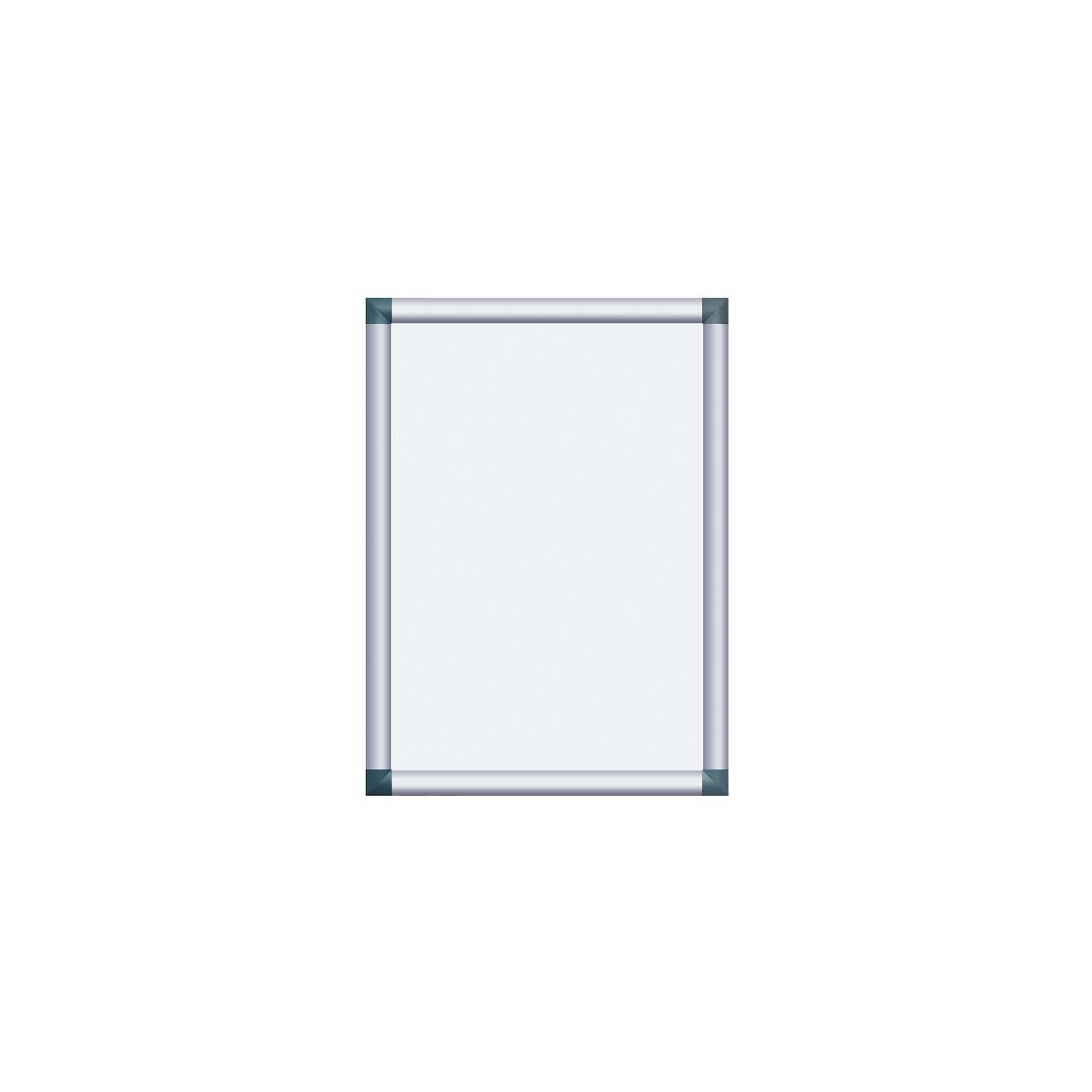 Alu-Plakatrahmen mit kantigen Ecken, DIN A2 (420 x 594 mm ...