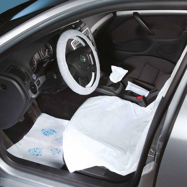 Einweg-Fahrzeugschutz-Artikel-Set PKW, ohne Umbeutel