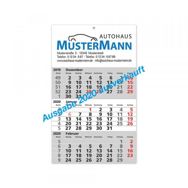 "3-Monats-Kalender ""Quartalo"", Ausgabe 2019"