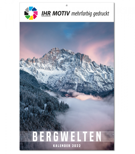 """Bildkalender """"Bergwelten"""", Ausgabe 2022"""