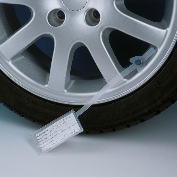 Rad-/Reifenanhänger Komplett-Paket, Anhänger wiederverwendbar