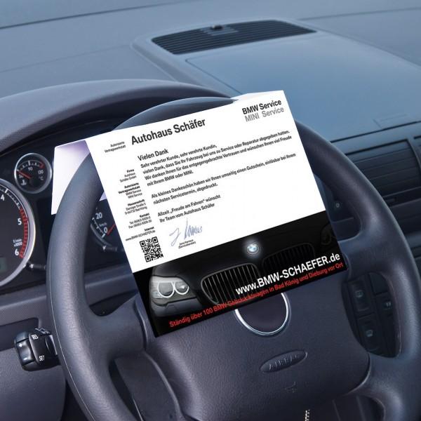 Lenkrad-Display - Kundenbeispiel