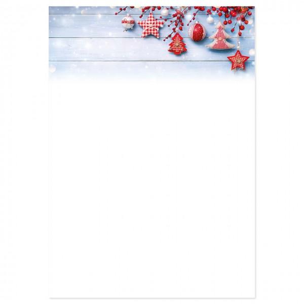"""Weihnachts-Briefpapier, Motiv """"Traum"""""""